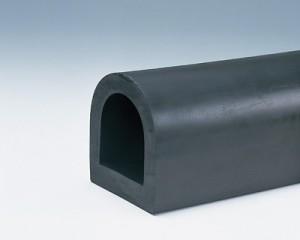 カーストッパー(黒ゴム製)